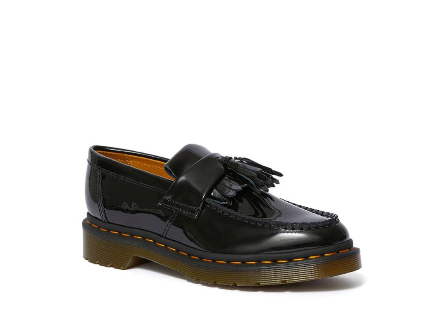 dr martens giày lười tassel da bóng