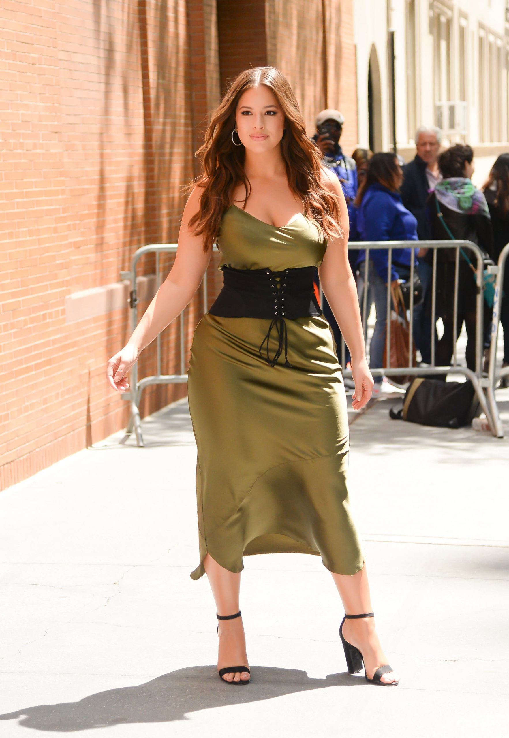 Slip dress Ashley Graham
