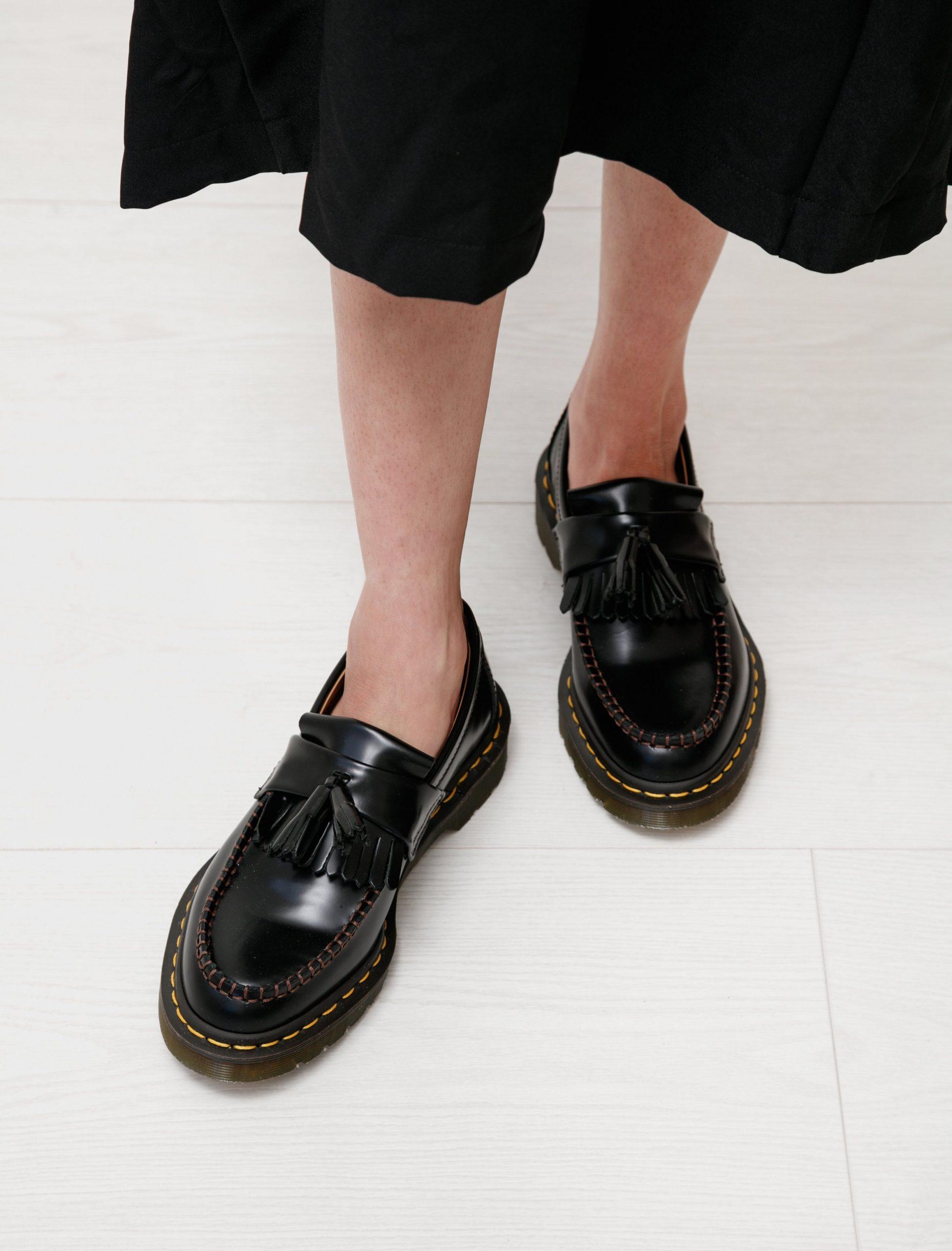 Giày lười tua rua dr martens