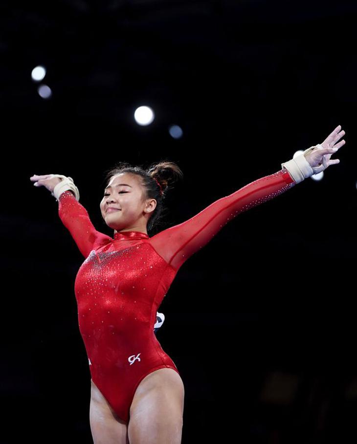 sunisa lee tại tokyo olympic