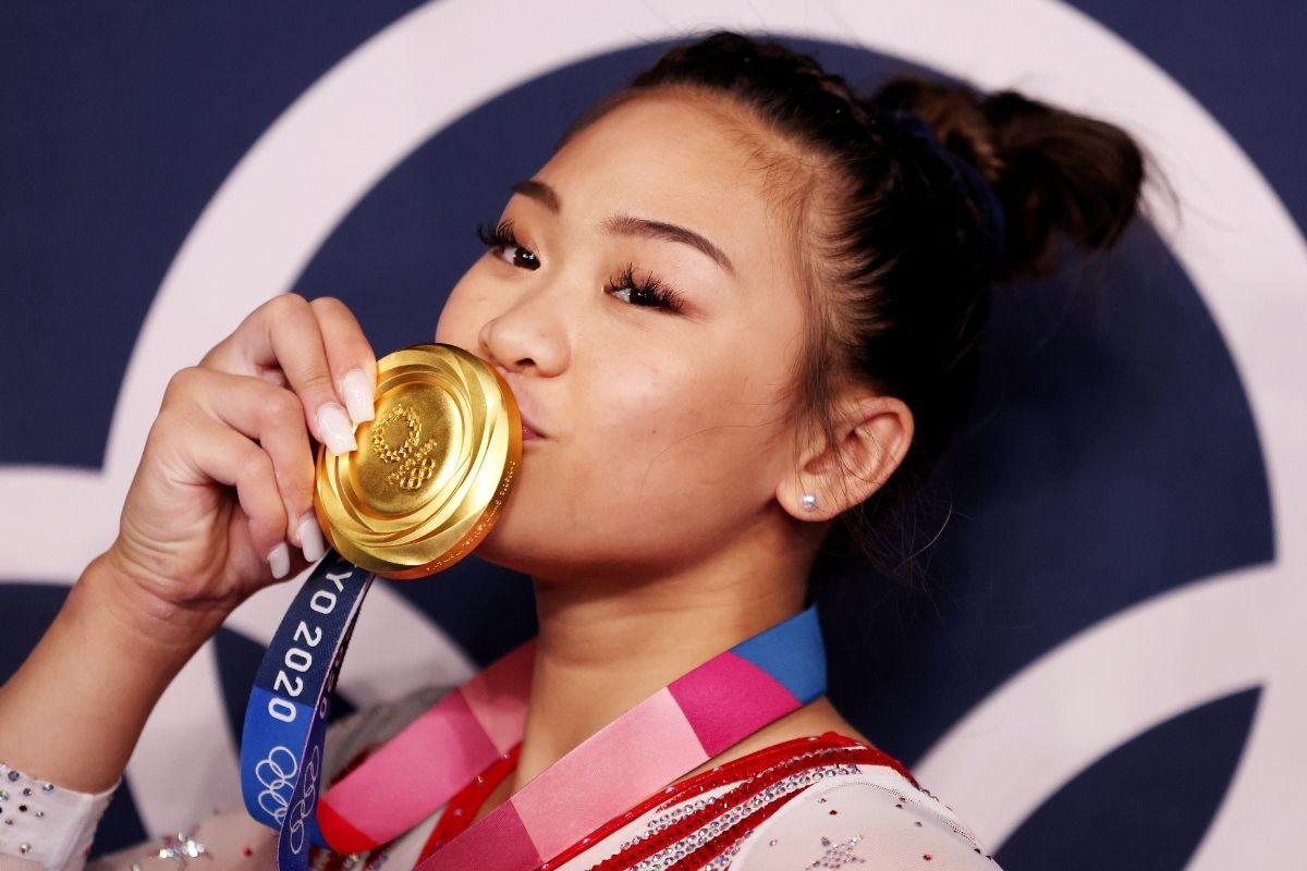 sunisa lee đạt huy chương vàng tại olympic