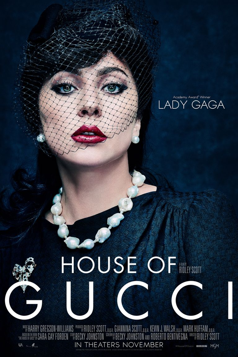 poster house of gucci lady gaga