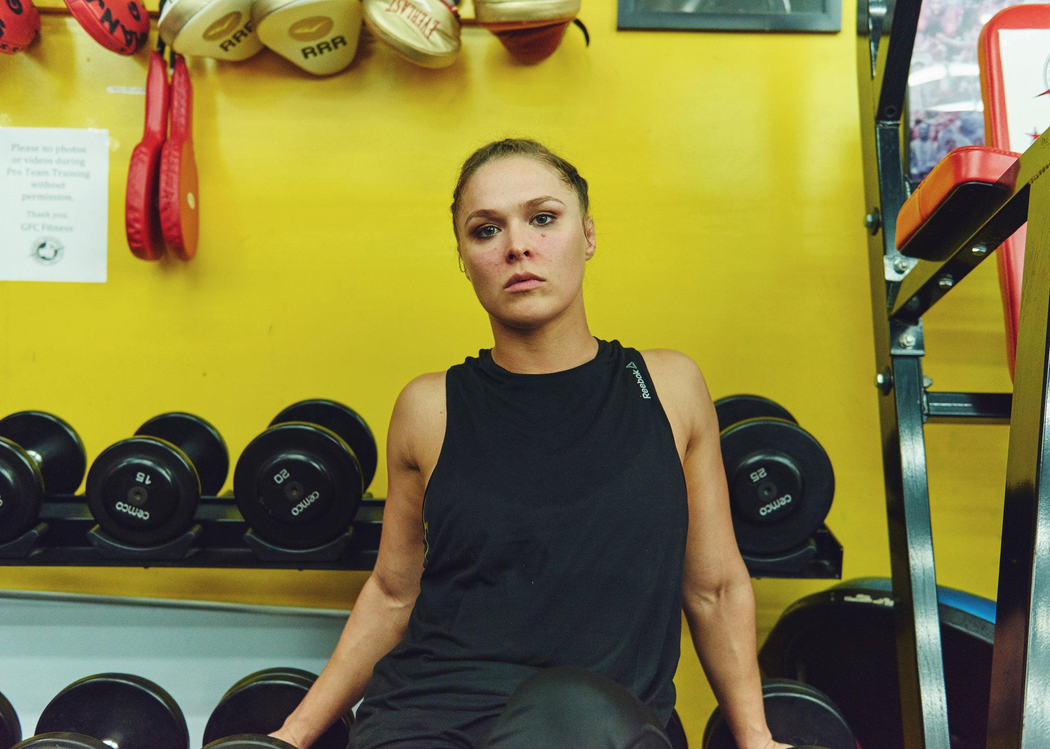 sức khỏe tinh thần của nữ vận động viên Ronda Rousey