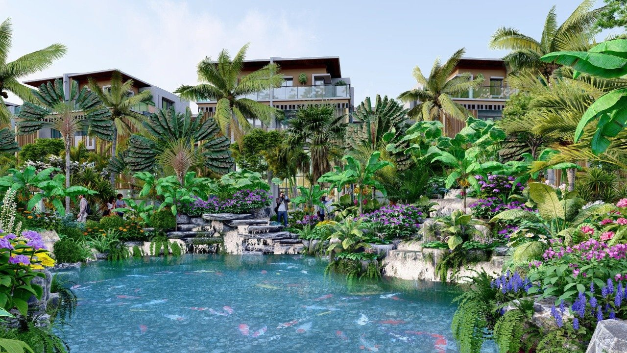 nghỉ dưỡng resort living