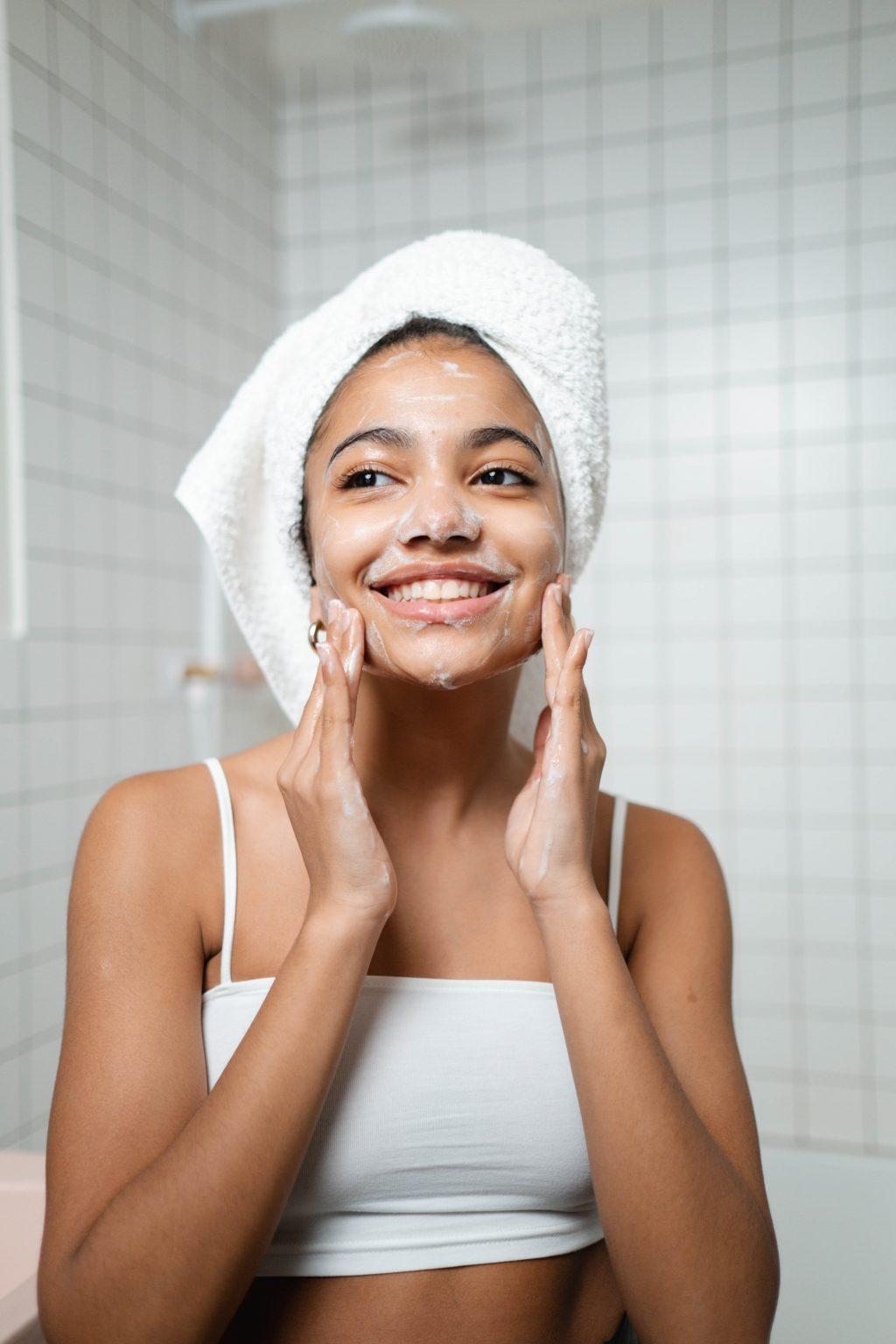 Giữ cho da luôn sạch khi da stress
