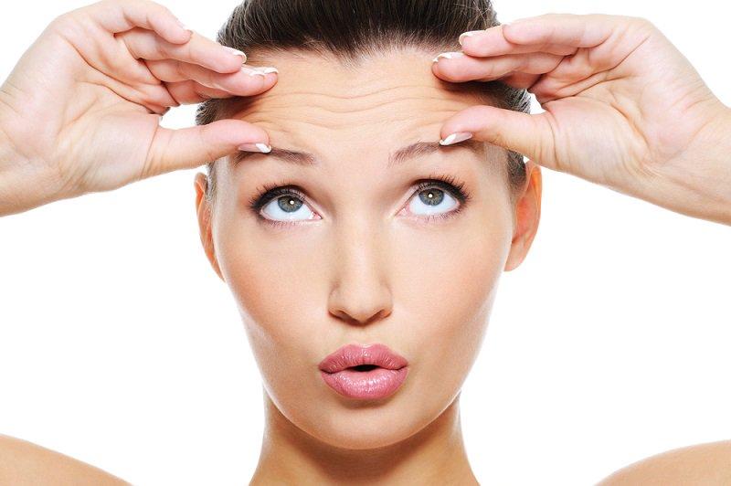 Nếp nhăn - dấu hiệu của da stress