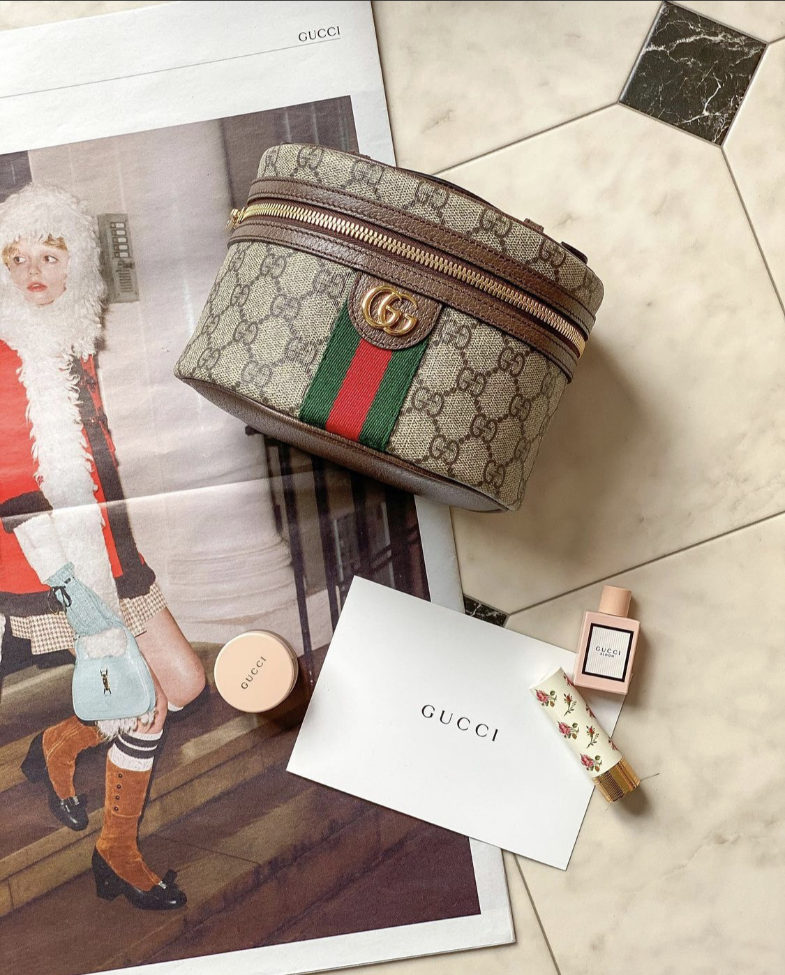 Gucci Ophidia Cosmetic Case