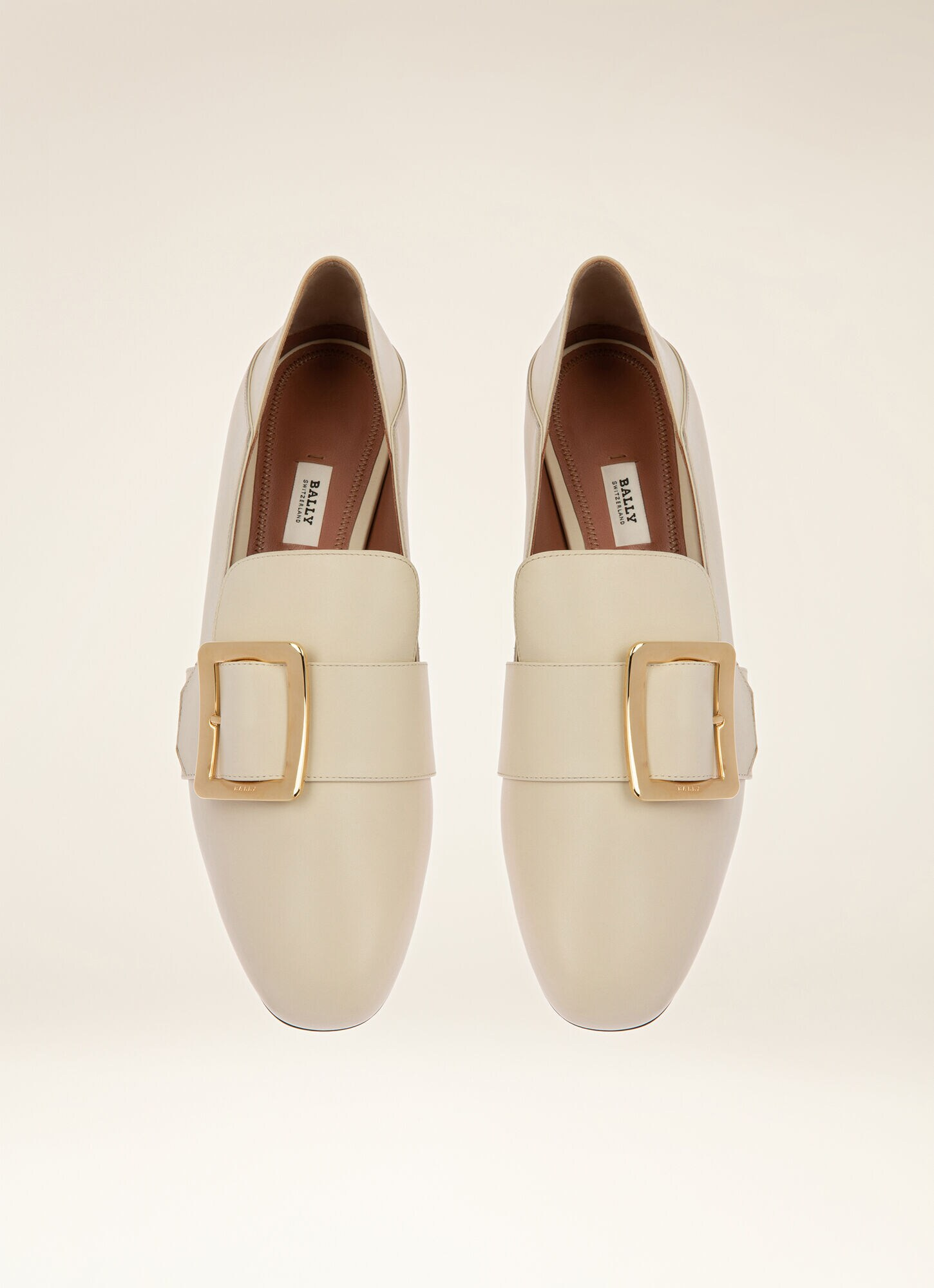 Bally soft leather loafers