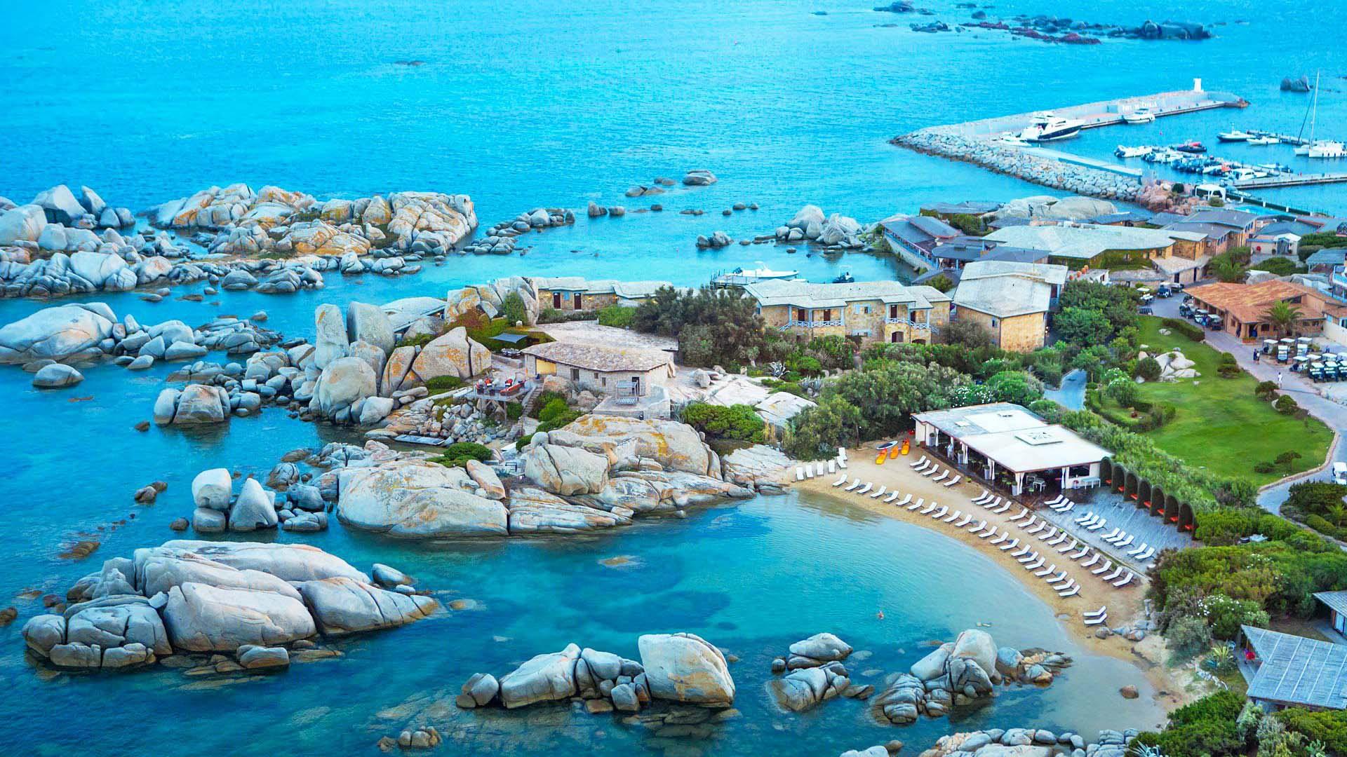 không gian sống tại khu resort des pêcheurs