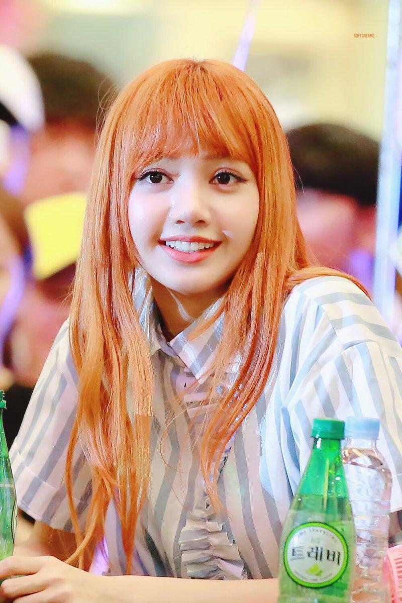 Kiểu tóc màu cam thuần túy