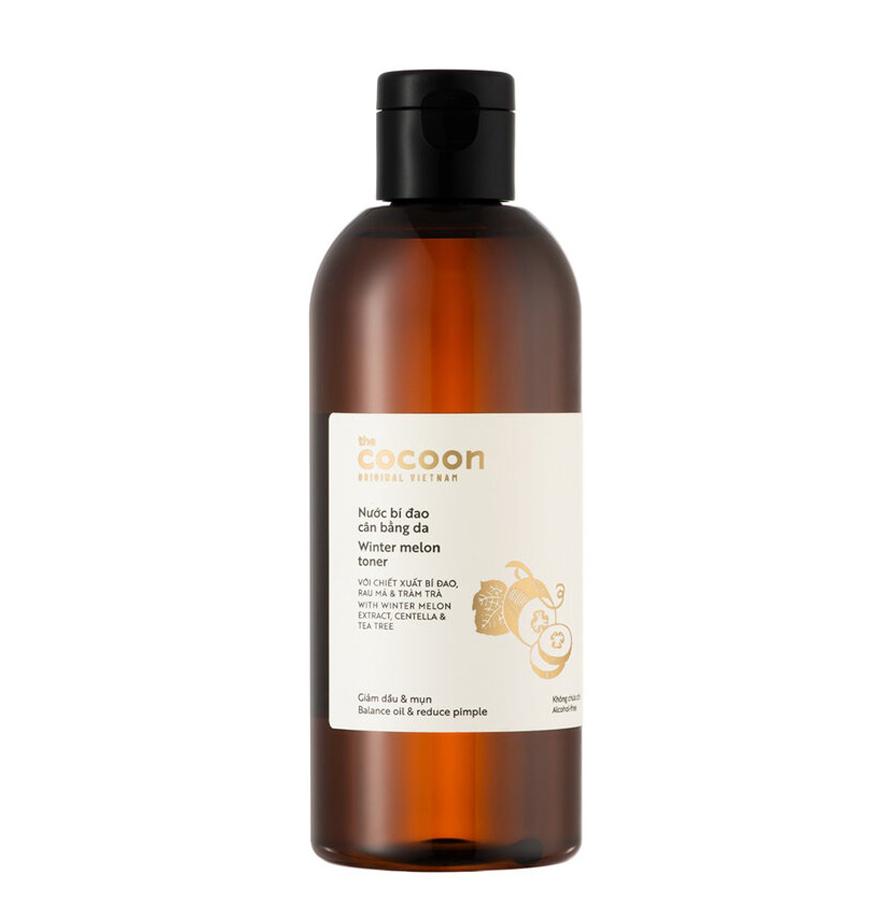 Mỹ phẩm sạch nước bí đao cân bằng da từ Cocoon