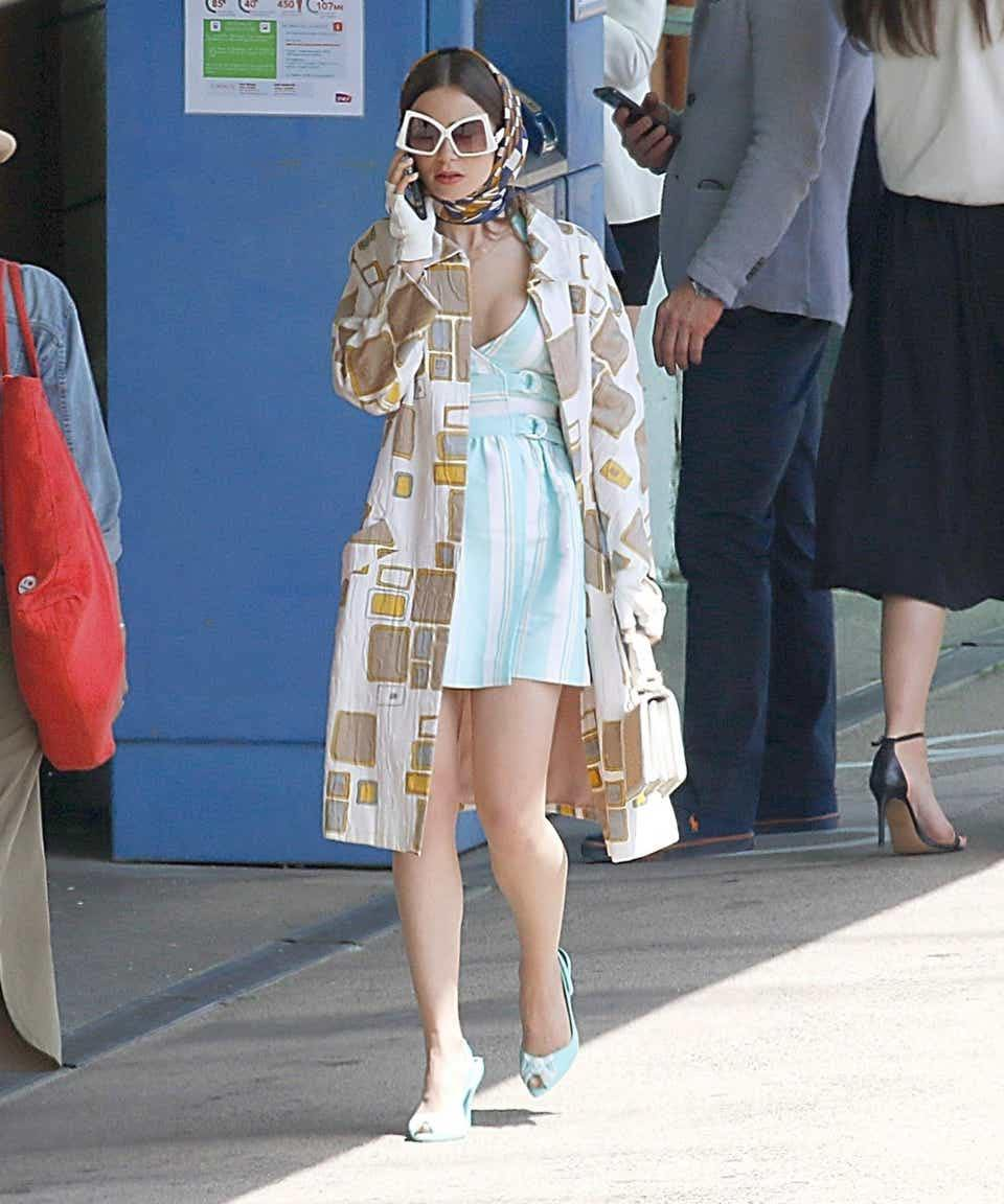 emily in paris in short dress