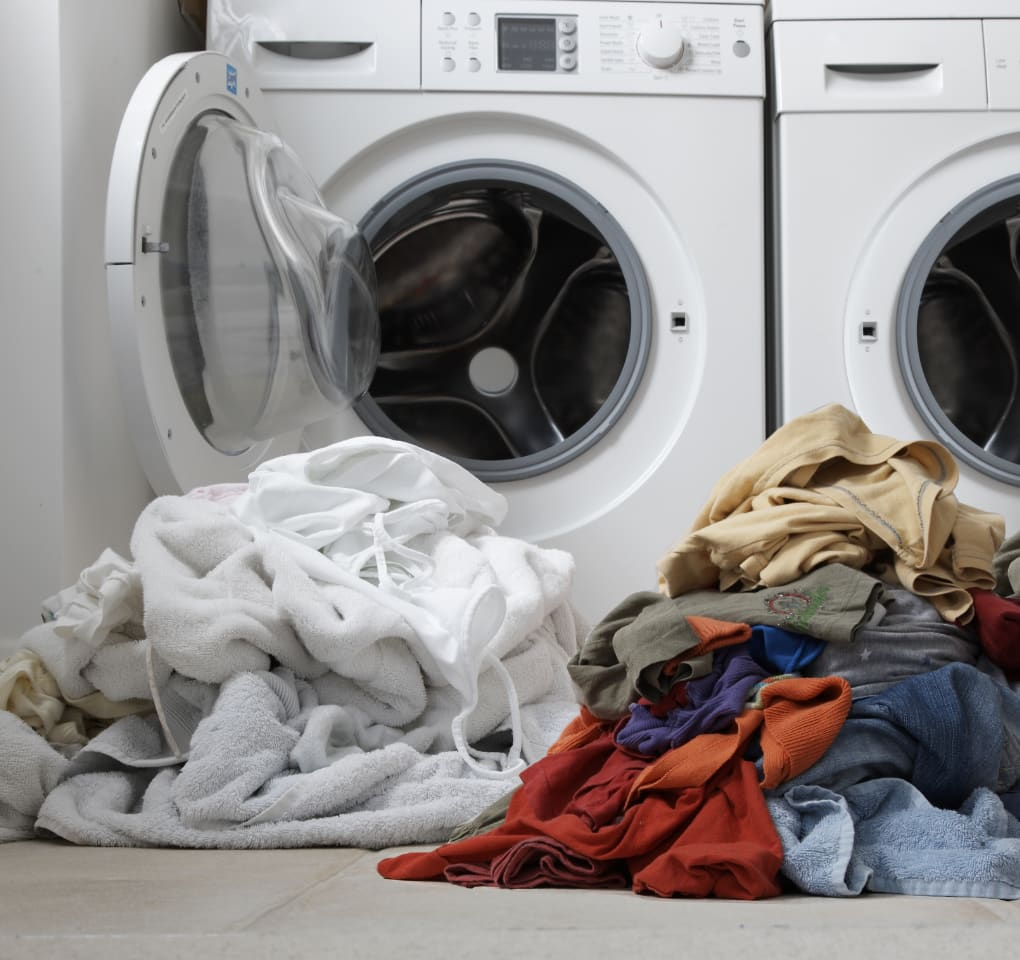 separate clothes before washing