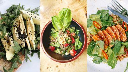 Xóa tan nỗi lo tăng cân mùa dịch cùng 4 món salad đơn giản