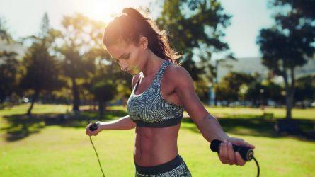Nhảy dây - Bài tập giảm cân nhanh và tốt cho sức khỏe