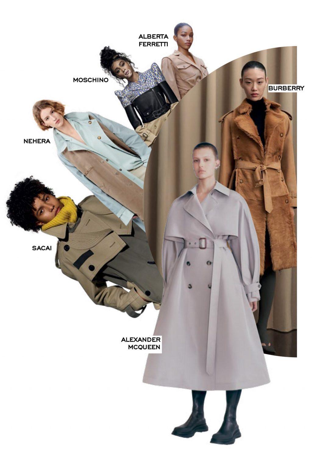 fashion trench coat coat