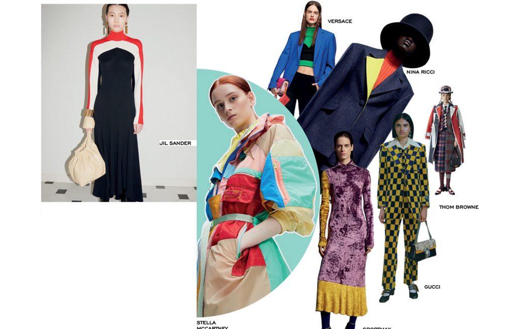 color block combination fashion