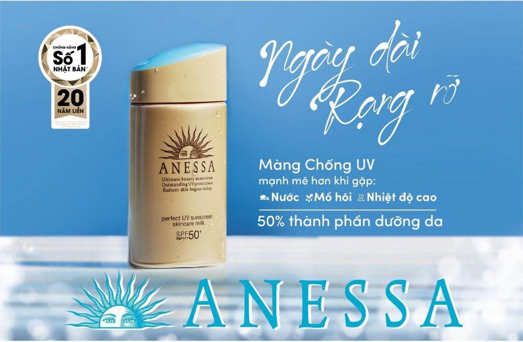 Khánh Linh trở thành gương mặt đại diện đồng hành cùng thương hiệu Anessa