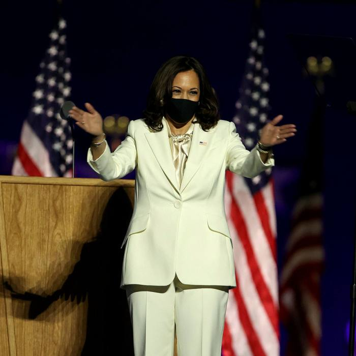 , Phong cách thời trang của Phó tổng thống Mỹ gốc Á đầu tiên Kamala Harris
