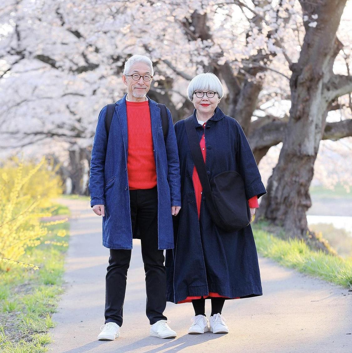 Thời trang ngắm hoa đào của Bon & Pon