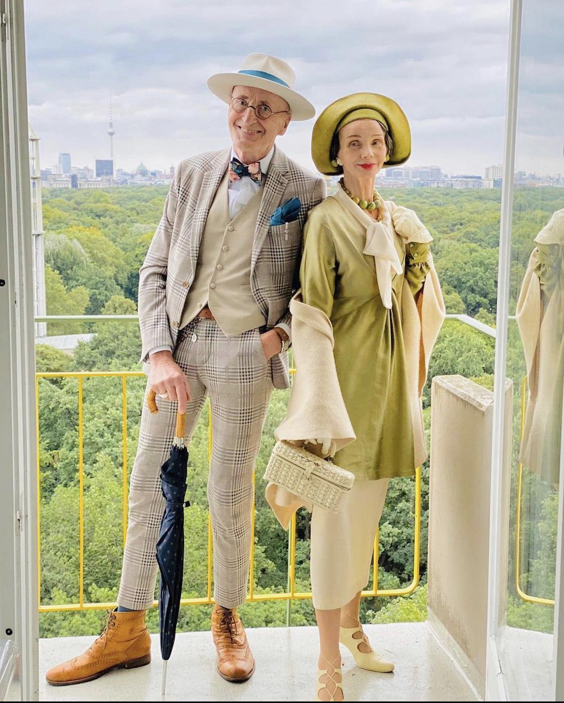 Cặp đôi thời trang người Đức
