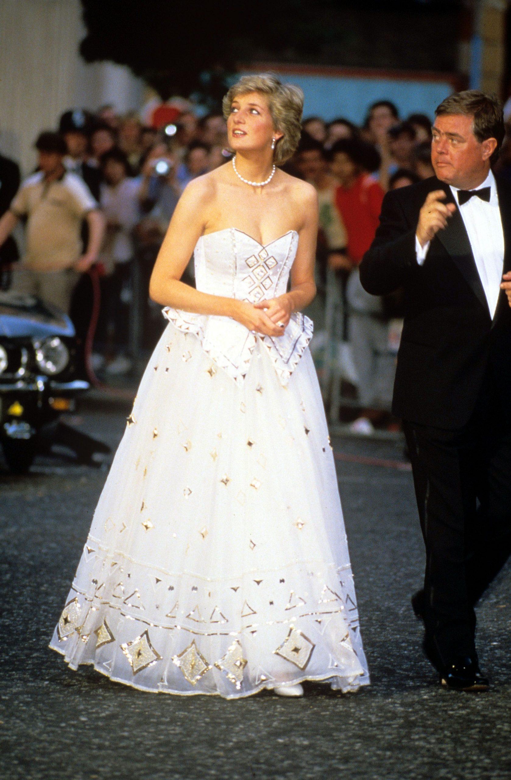 Công nương Diana và chiếc đầm dạ hội Diaghilev