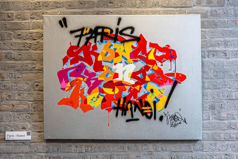 nghệ thuật graffiti là một hình thức của calligraphy