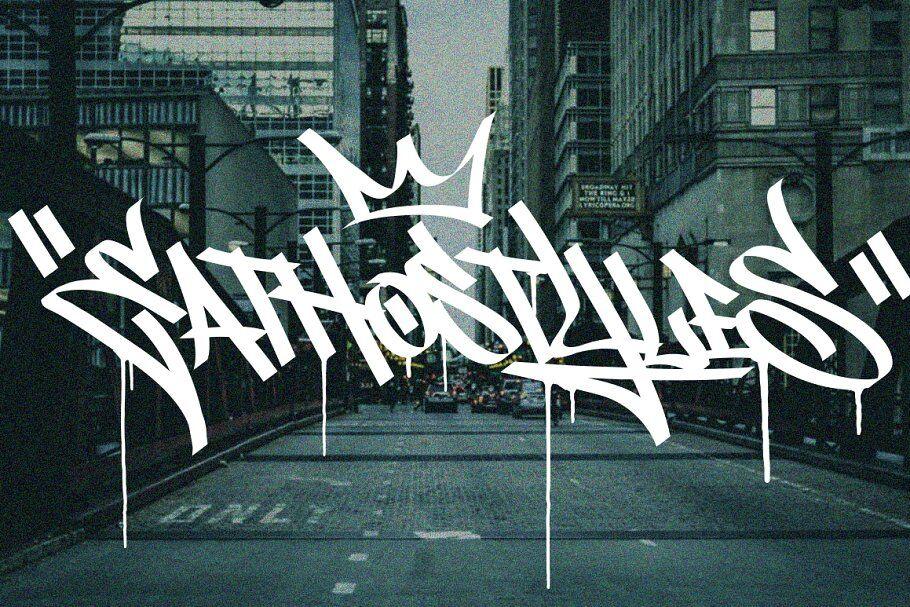hình thức tagging tên trong graffiti