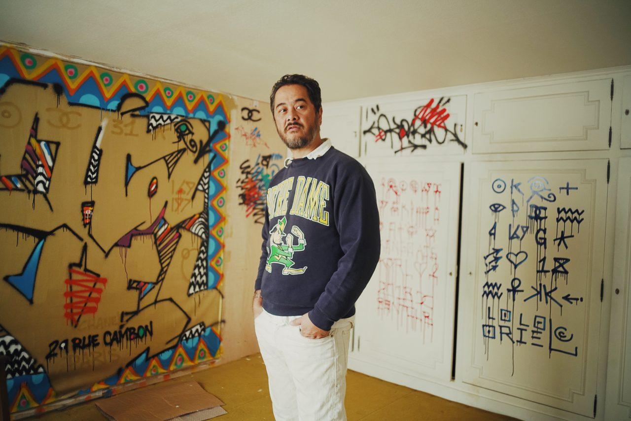 sự nghiệp graffiti của cyril kongo