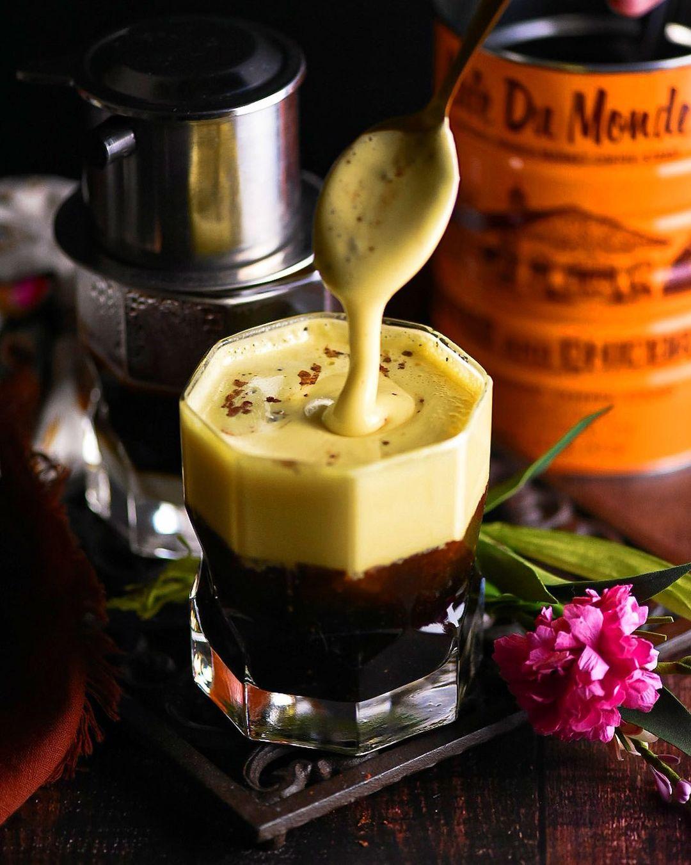 công thức pha chế cà phê trứng