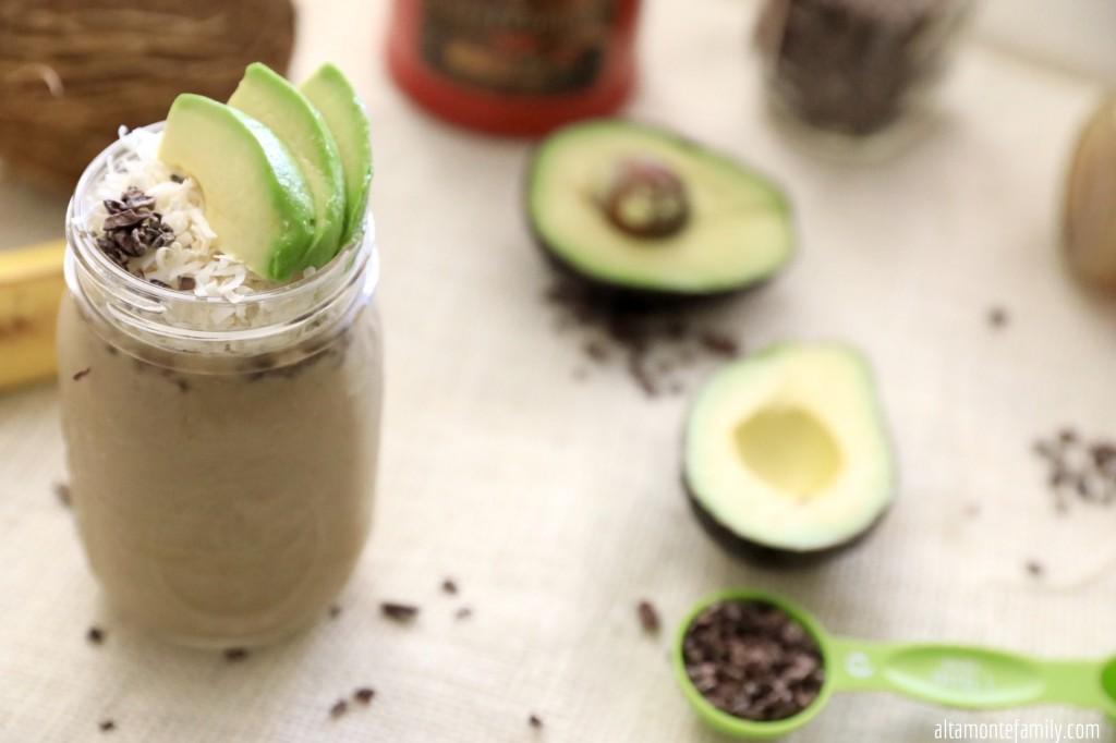công thức pha chế coffee avocado milkshake