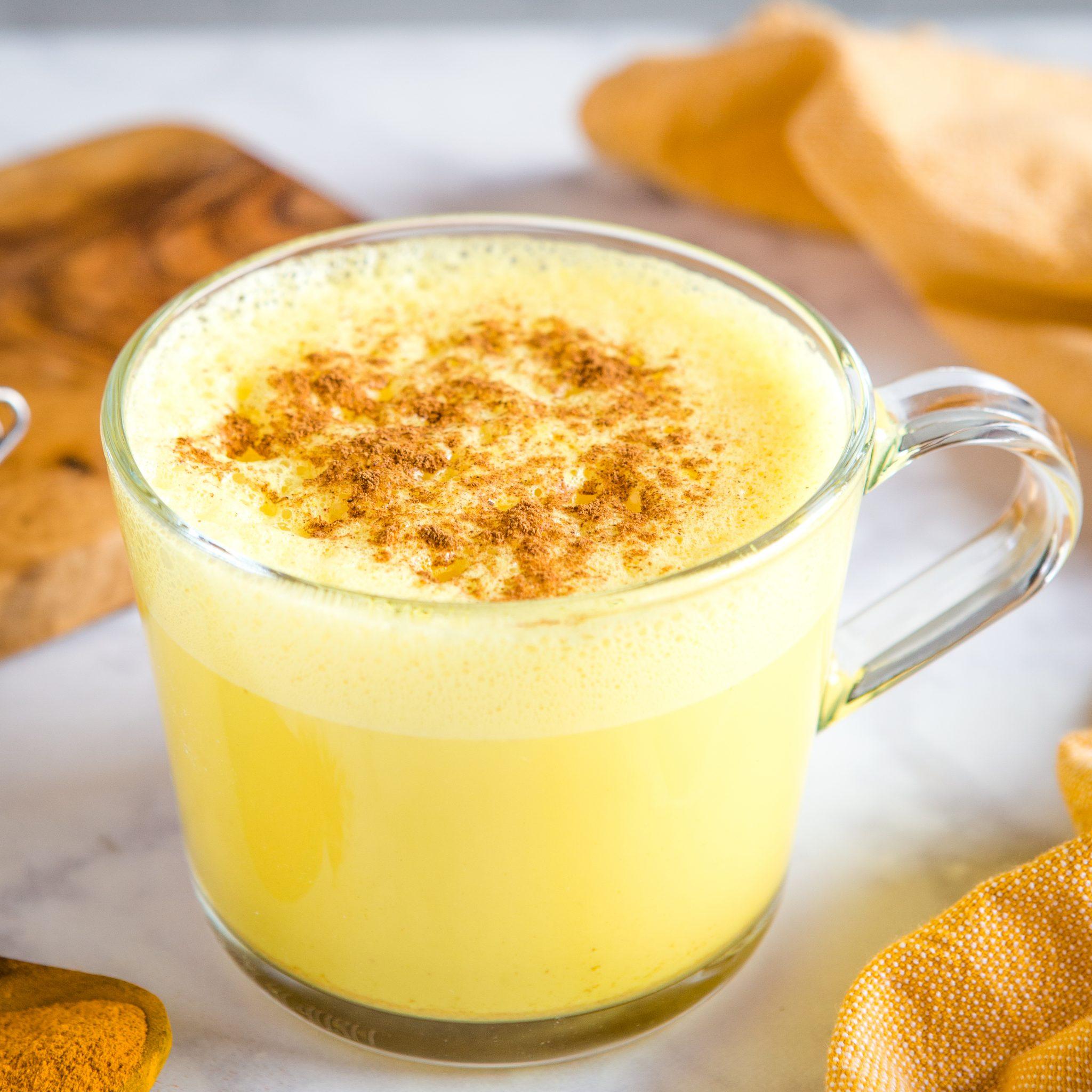 công thức pha chế golden milk latte