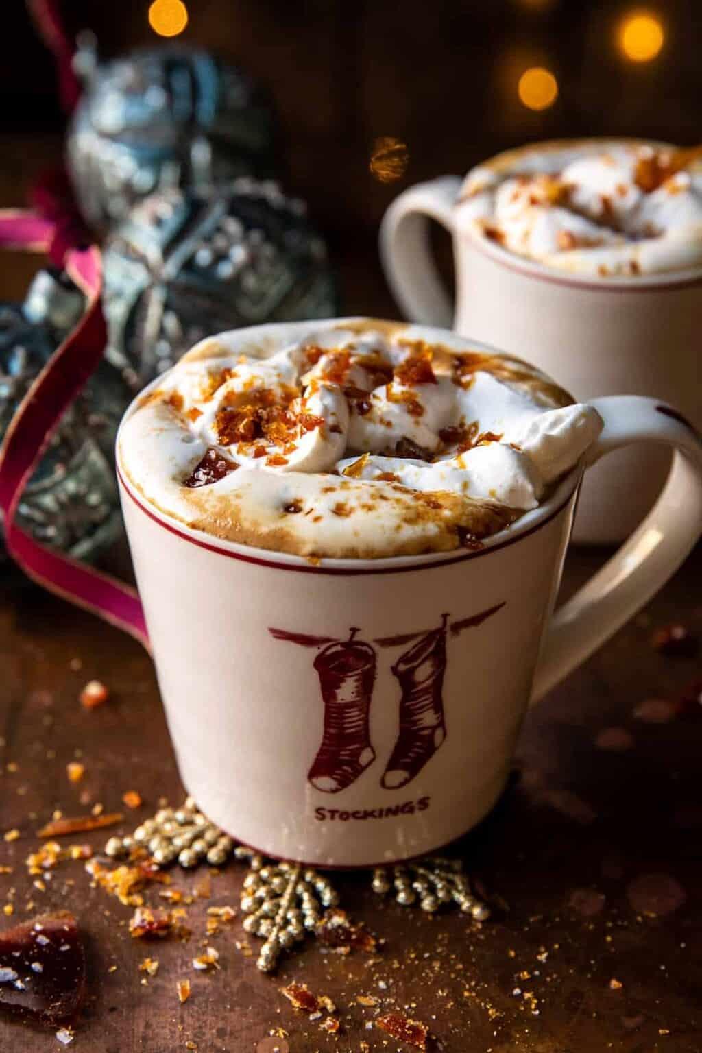 công thức pha chế salted caramel brûlée latte