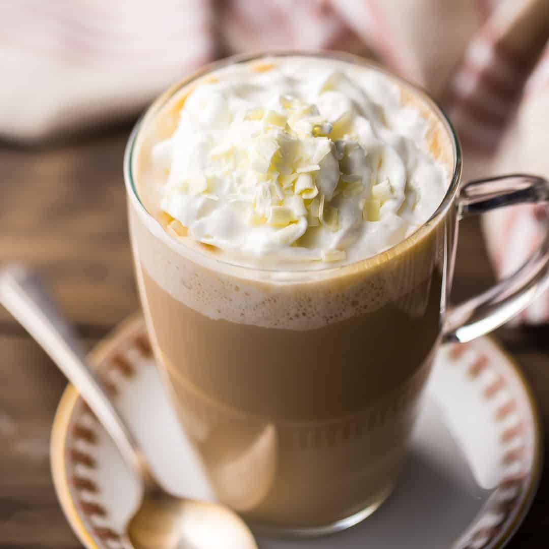 công thức pha chế white chocolate mocha