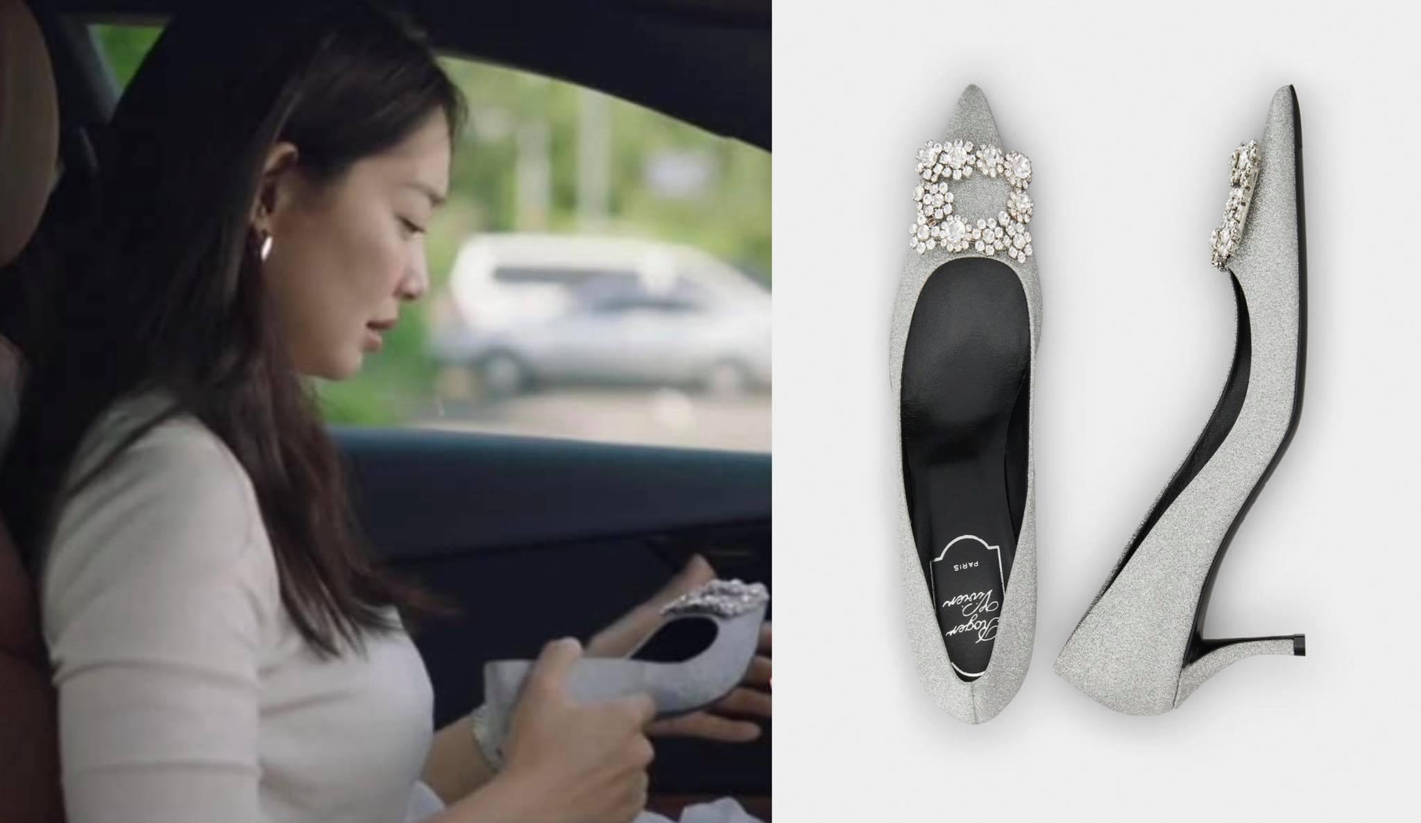 heels Shin Min Ah gifted herself in the drama