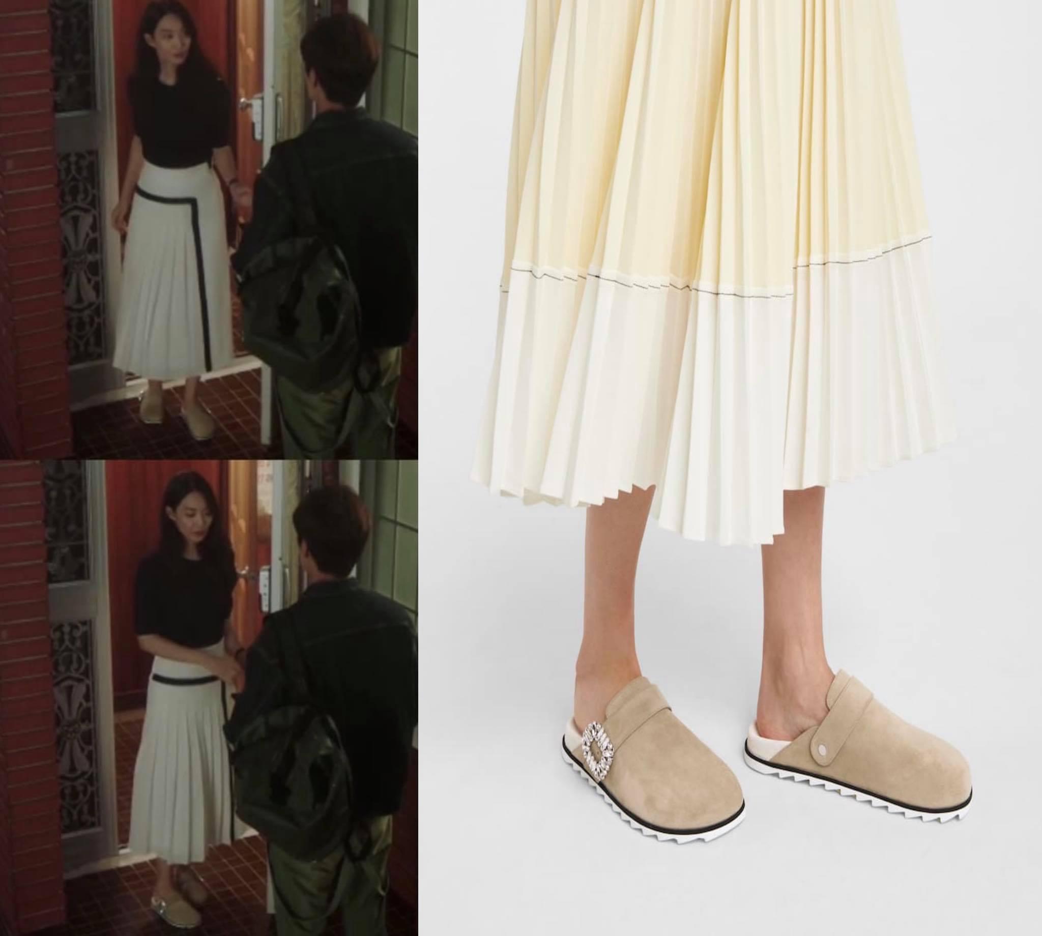 phụ kiện giày slipper