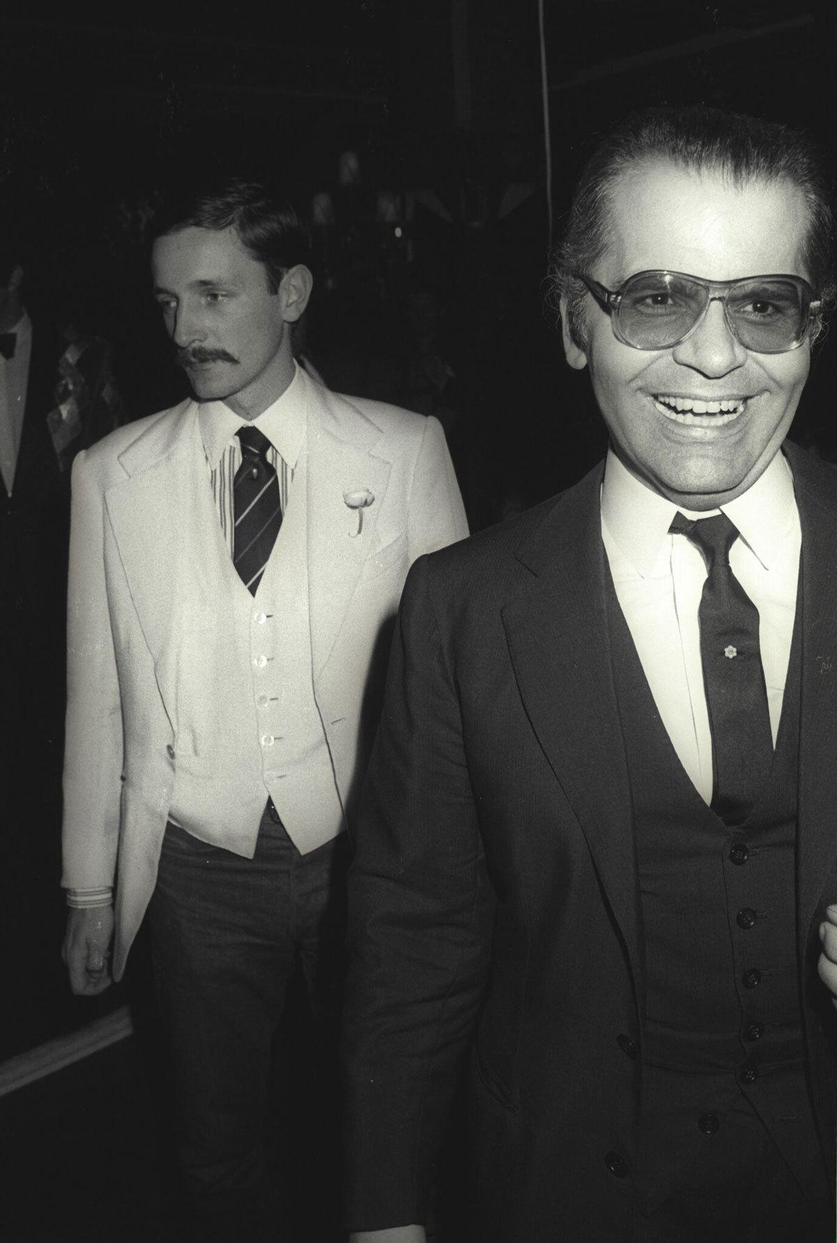 Huyền thoại thời trang Karl Lagerfeld và người tình Jacques de bascher
