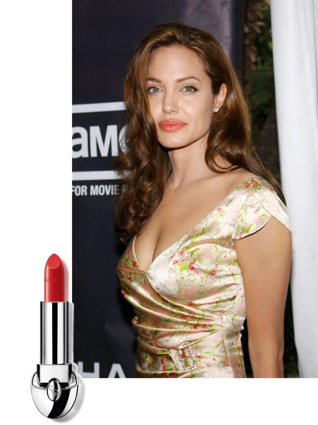 trang điểm phong cách của Angelina Jolie