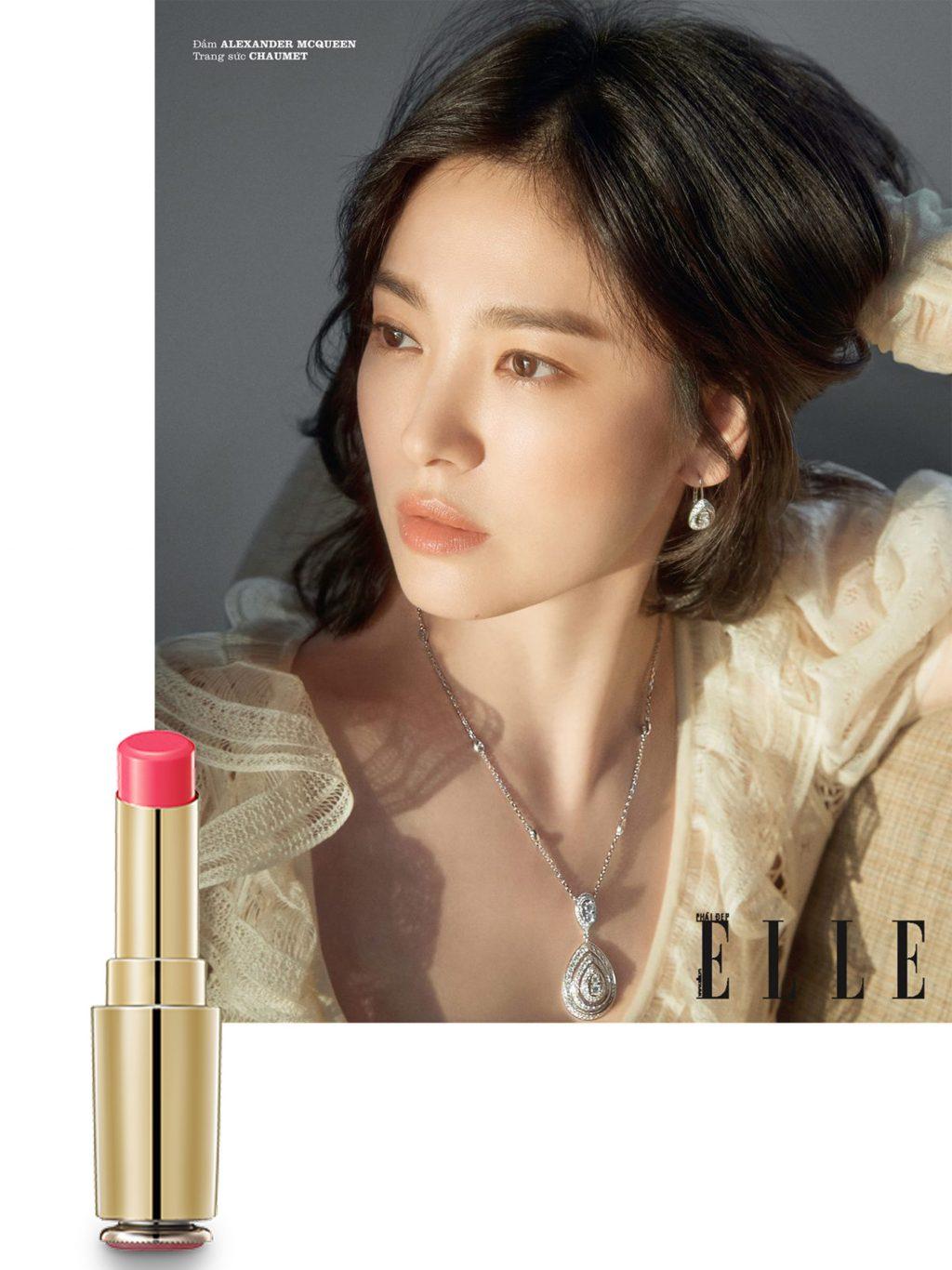 trang điểm phong cách của Song Hye Kyo