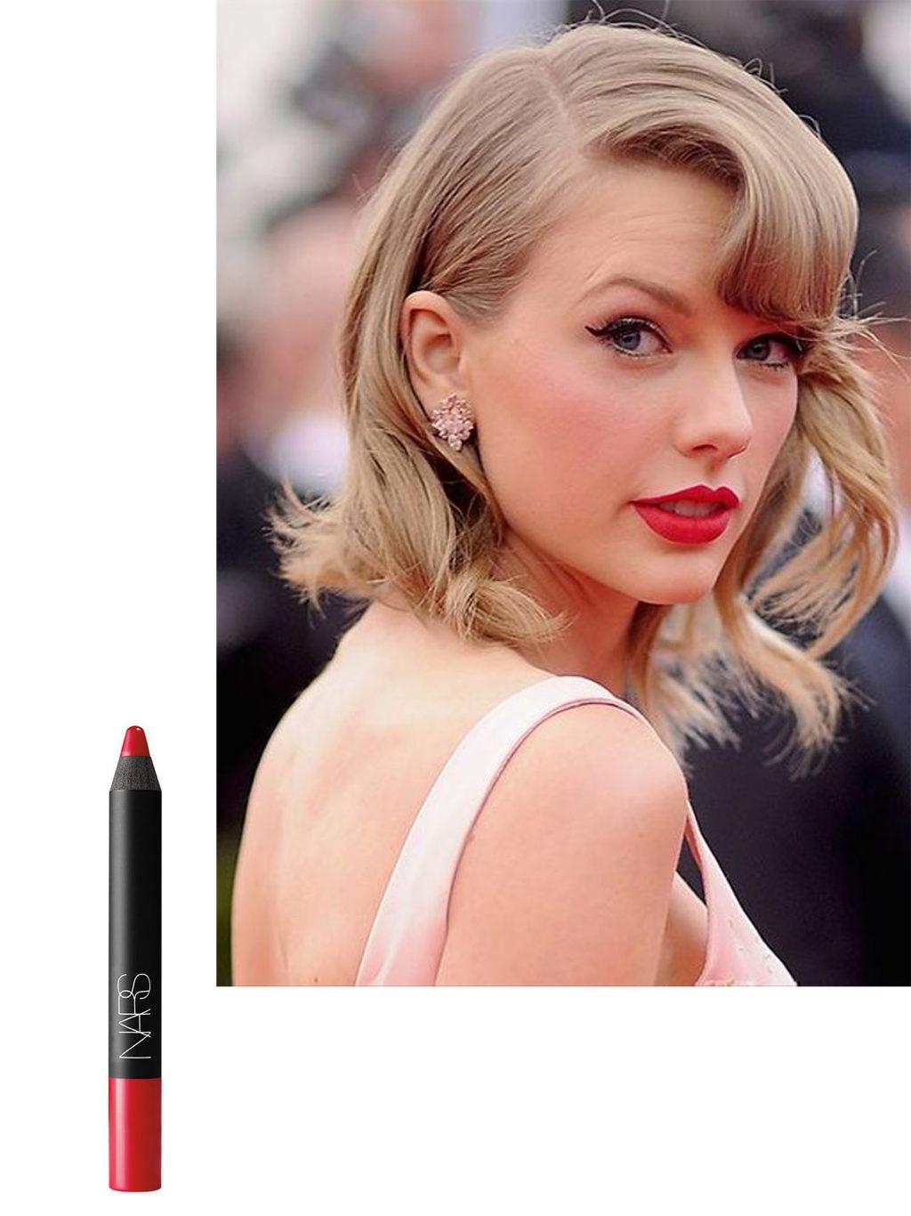 trang điểm phong cách của Taylor Swift