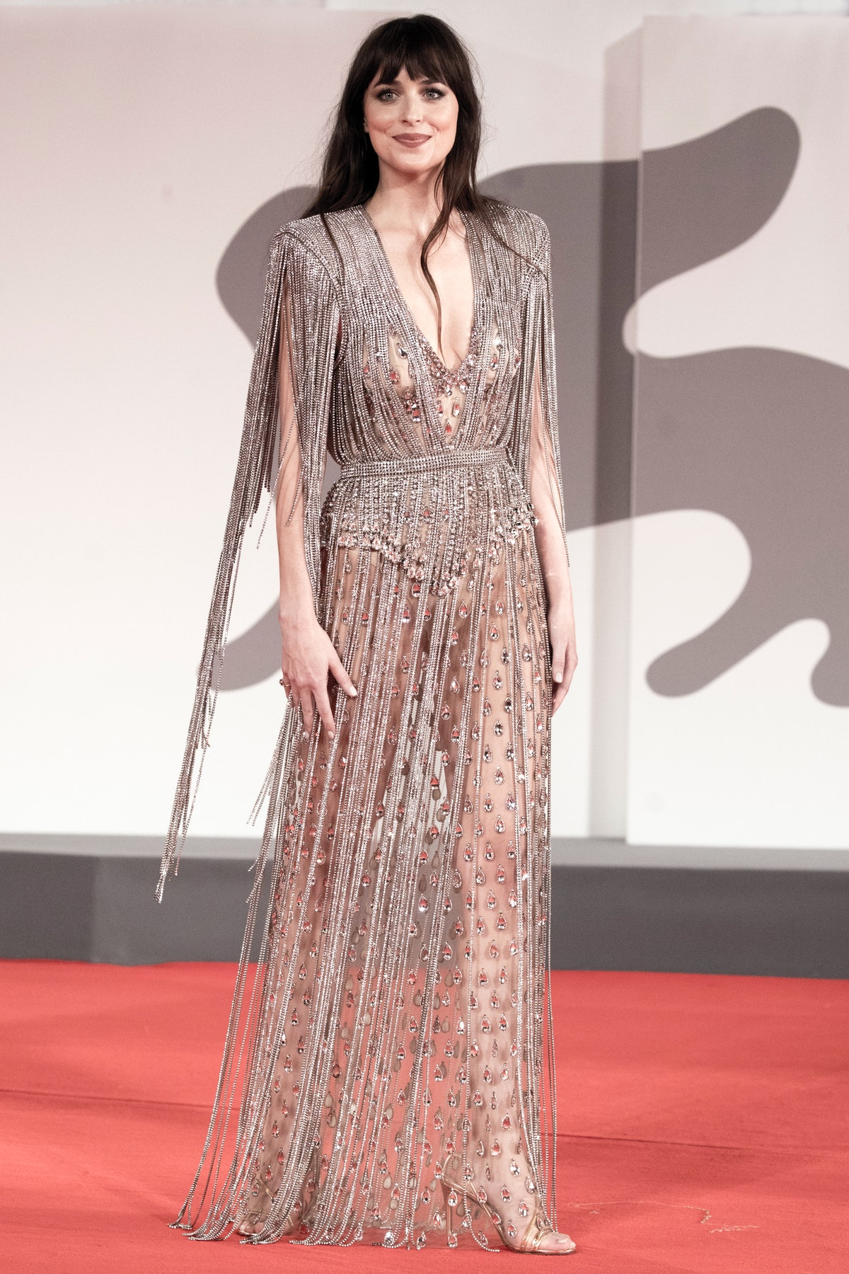 Dakota Johnson red carpet fashion