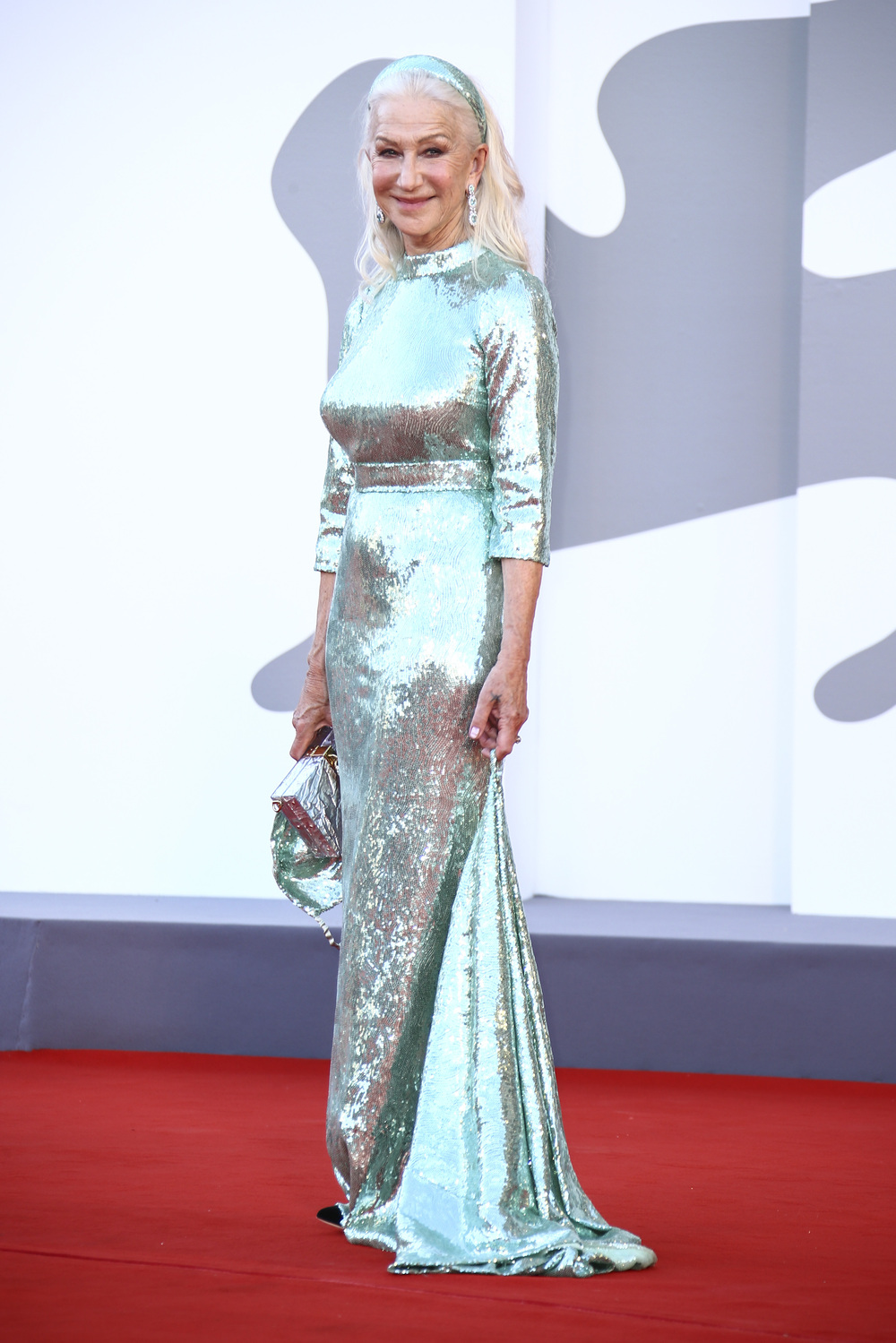 Helen Mirren in sequins