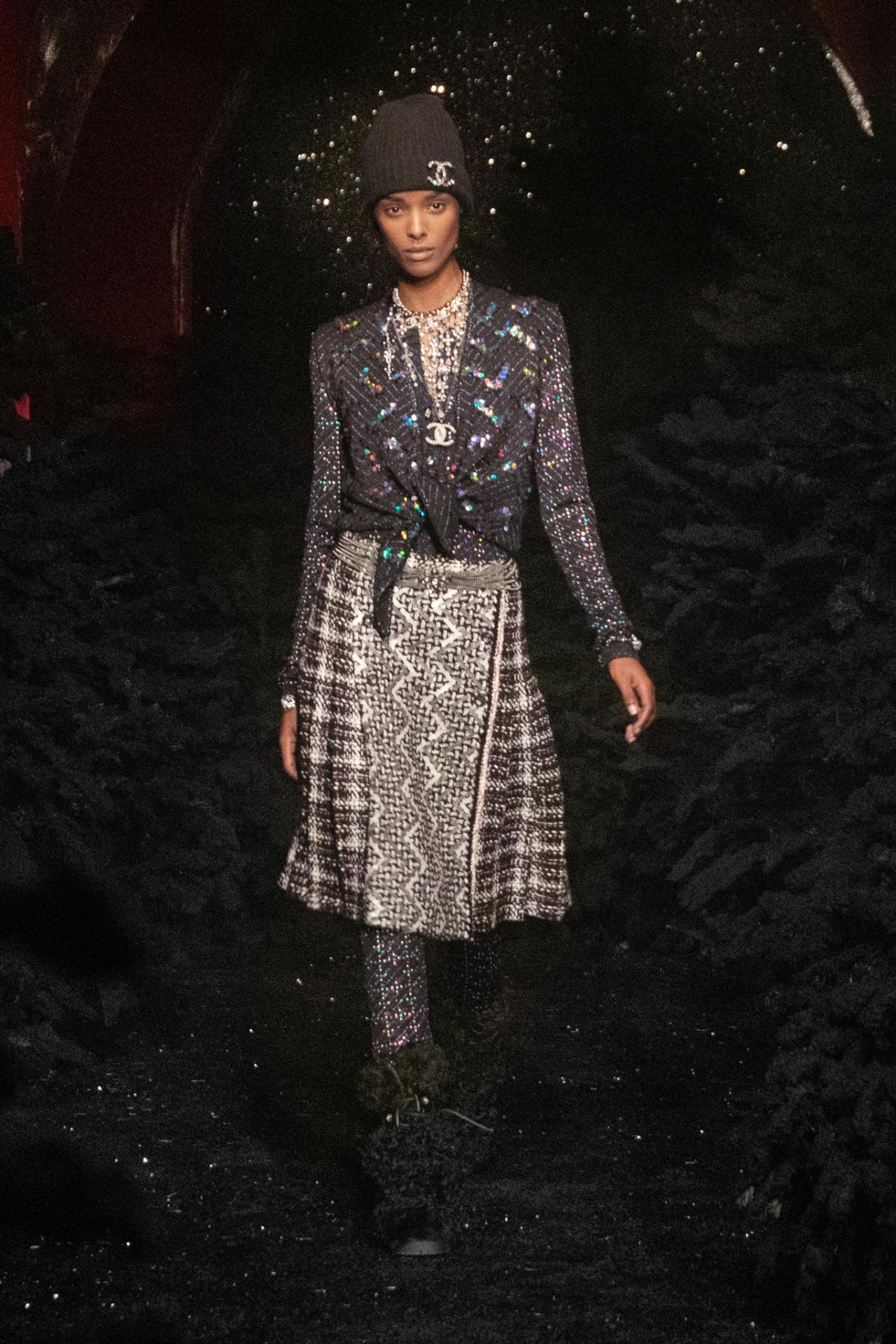 Chanel patchwork textures