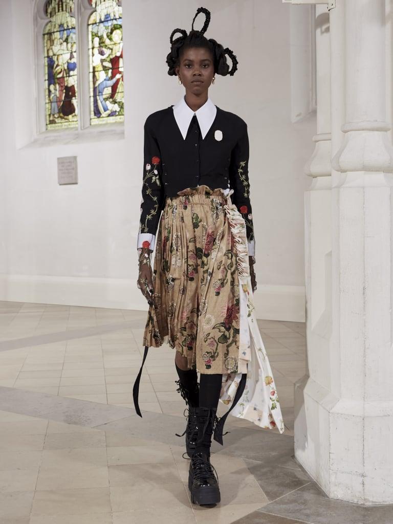 Simone Rocha fashion floral pattern