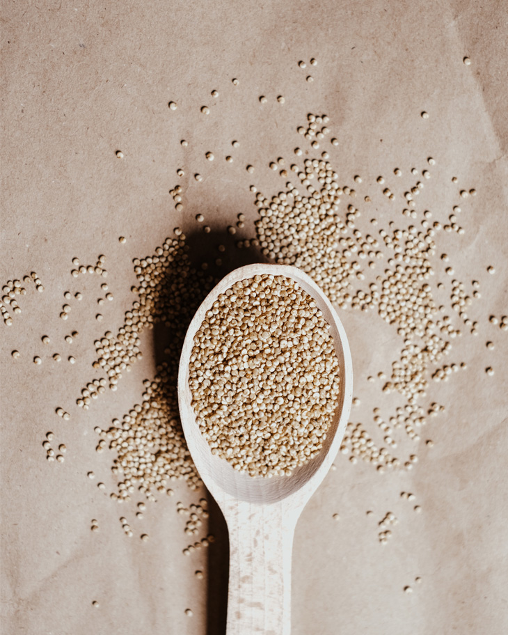 Hạt quinoa giàu chất đạm