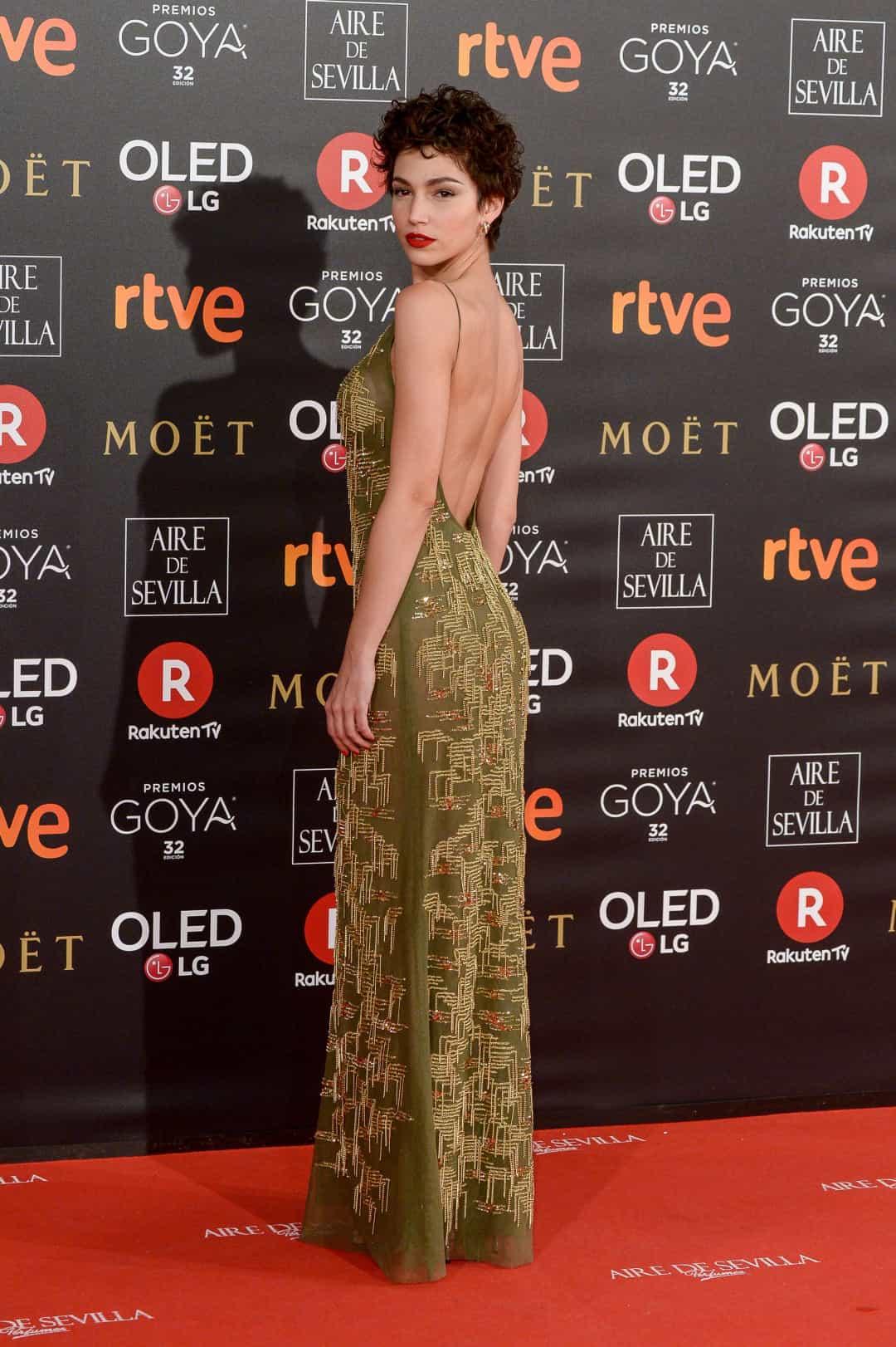 Ursula Corbero Money Heist tham dự Goya Cinema Awards 2018