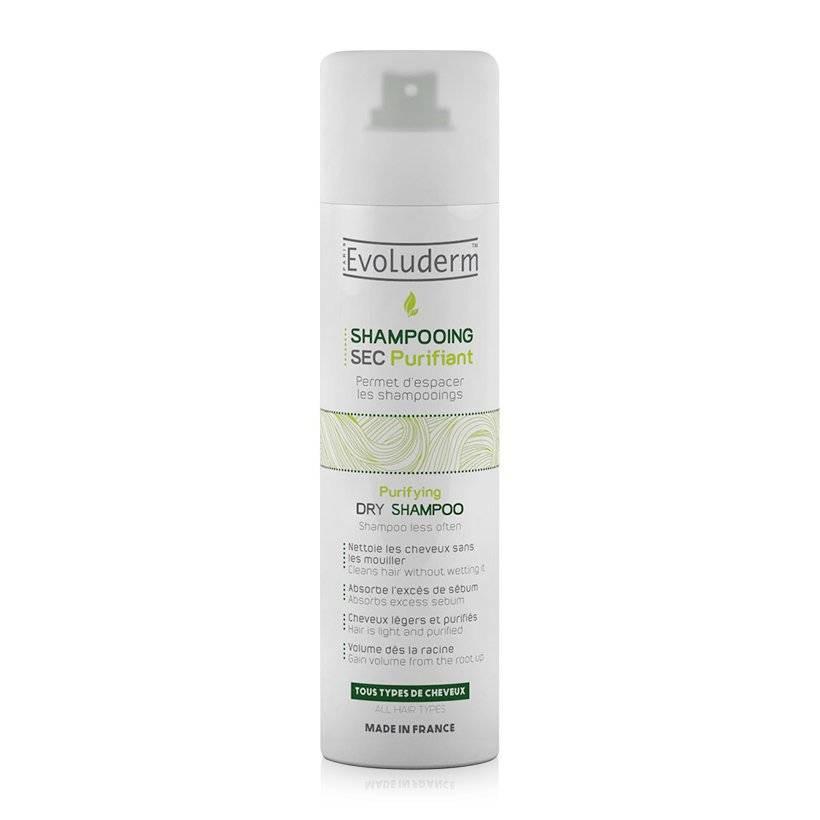 Dầu gội khô Evoluderm Shampooing SEC Purifiant Dry Shampoo.