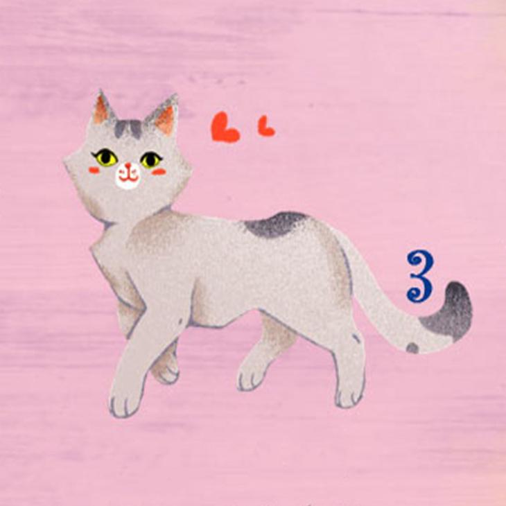 chú mèo 3 tiết lộ khả năng giao tiếp