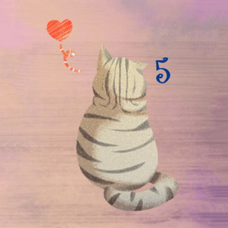 chú mèo 5 hé lộ khả năng giao tiếp của bạn