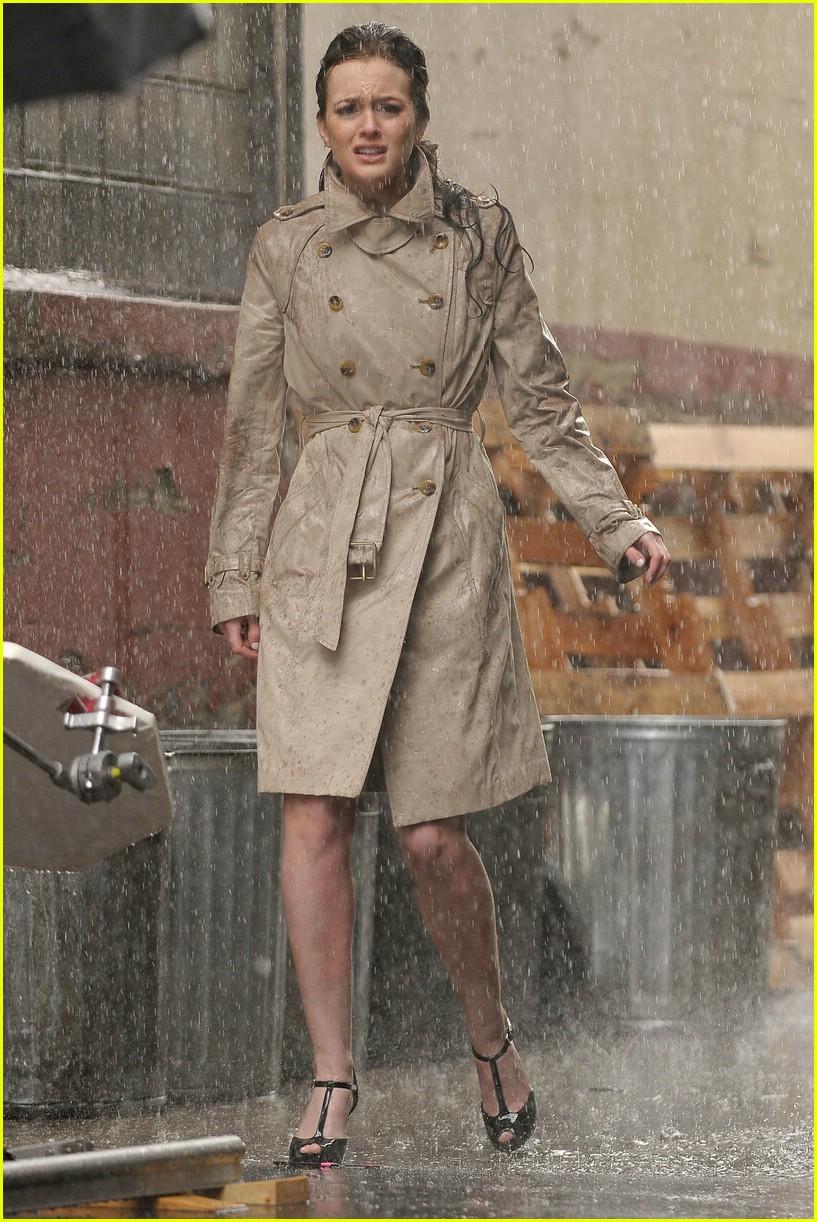 Cảnh mưa trong phim Gossip Girl